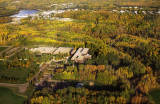 Athabasca University, town and river