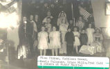 Miss Stoker, Kathleen Greer, Doris Falconer, Grace Mills, Fred Cull [and] others at Music Recital