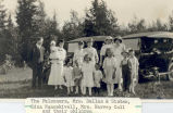 The Falconers, Mrs. Dallas and Sister, Edna Nancekivell, Mrs. Harvey Cull and their children