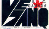 QSL Card from Jim Jung, VE7ANQ/VE8(front)