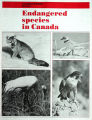 Endangered species in Canada