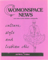 Womonspace News: Our Voice in the Lesbian Community. Culture, Style and Lesbian Chic