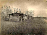 Small log buildings, [Alberta].