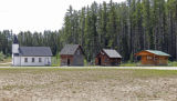 Church and Three Cabins - Whitecourt