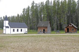 Church and Two Cabins - Whitecourt