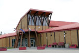 Whitecourt Interpretive Center: entrance