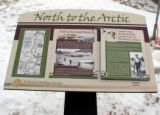 "Sign ""North to the Arctic"""