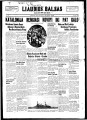 Liaudies Balsas = Peoples voice, January 24, 1939