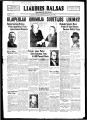Liaudies Balsas = Peoples voice, December 13, 1938