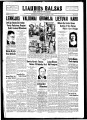 Liaudies Balsas = Peoples voice, March 17, 1938