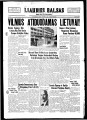 Liaudies Balsas = Peoples voice, October 13, 1939