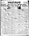 Vapaus, March 24, 1930