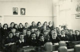 School Girls in Classroom