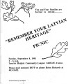 """Remember your Latvian Heritage"""