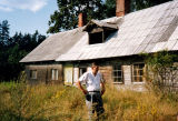 Ollie Auzins at Auzin's Ancestral Home and property in Latvia