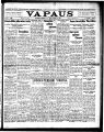 Vapaus, March 11, 1926