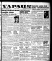 Vapaus, March 29, 1951