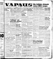 Vapaus, March 4, 1954