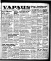 Vapaus, March 9, 1957