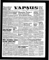 Vapaus, March 20, 1958
