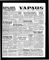 Vapaus, March 29, 1958