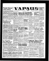 Vapaus, March 1, 1958