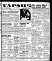 Vapaus, March 24, 1951