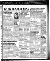 Vapaus, March 11, 1952
