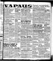 Vapaus, March 19, 1953