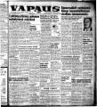 Vapaus, March 11, 1954
