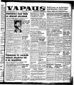 Vapaus, March 5, 1953