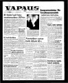 Vapaus, March 3, 1964