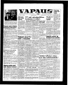Vapaus, March 13, 1958