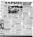 Vapaus, March 29, 1955
