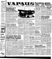 Vapaus, March 8, 1955