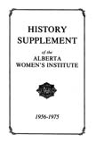 History Supplement of the Alberta Women's Institute