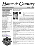 Home & Country (Spring 2005)
