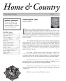 Home & Country (Fall 2005)