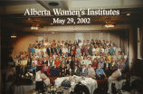 Alberta Women's Institute Provincial Convention, May 29, 2002
