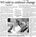 WI told to embrace change
