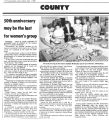 50th Anniversary may be last for Women's Group,