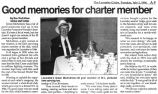 Good Memories for Charter Member